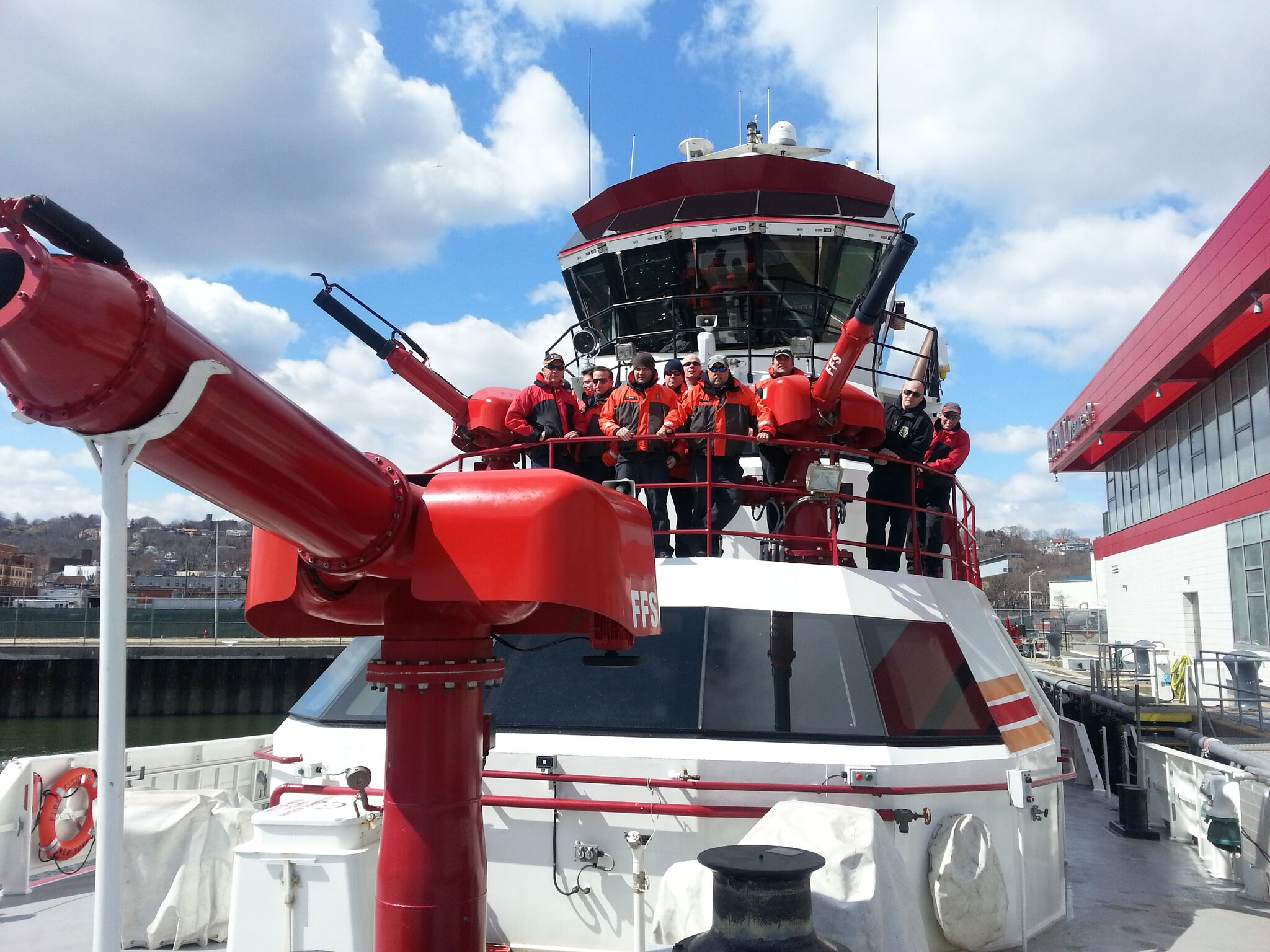 Fire Boat Training